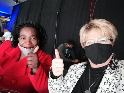 Mpho Komana and Monica Stach_500